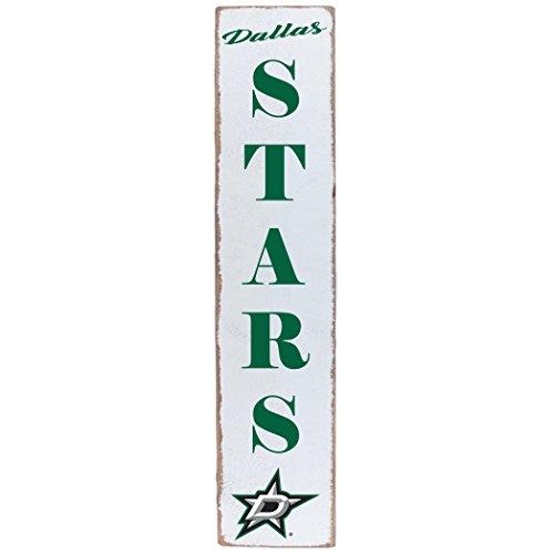 (Rustic Marlin Designs NHL Dallas Stars Team Vertical Barn Board Sign, 10