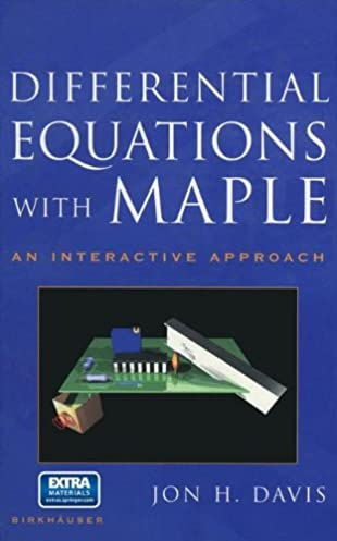 differential equations with maple an interactive approach jon rh amazon com Elementary Differential Equations Elementary Differential Equations