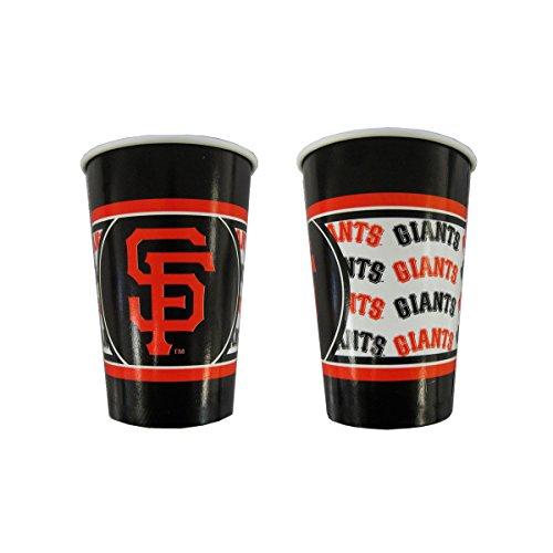 San Francisco Giants Disposable Paper Cups