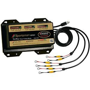 Dual Pro Sportsman Series Battery Charger - 30a - 3-10a-Banks - 12v-36v