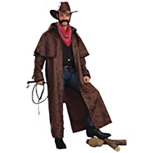 Forum Novelties Men's Texas Cowboy Duster Coat Adult Costume