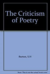 The Criticism of Poetry