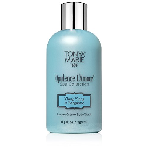 Soft Soap. Body Wash for Women. Moisturizing & Perfumed Bath Wash. Scented Liquid Body & Hand Soap For Dry Skin | Opulence L'Amour Ylang-Ylang & Bergamot by Tonya Marie | A Luxury | 8.5 fl oz