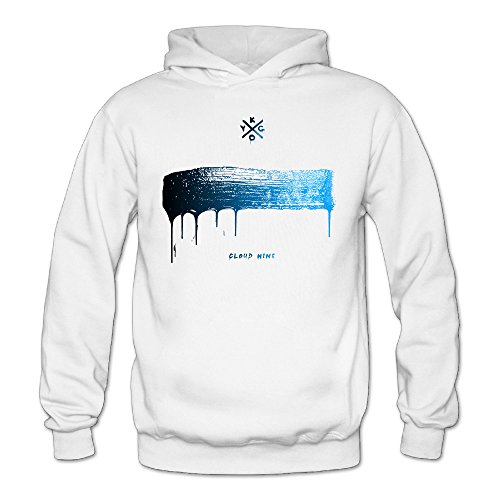 Cool Kygo Cloud Nine Women's Long Sleeve Hoodie L White