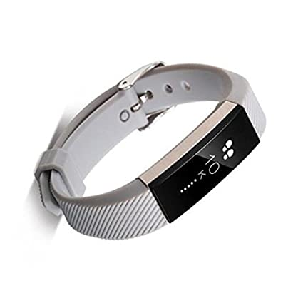 Amazon.com: Fitbit Alta Smart Watch Wristband +Buckle - TOOGOO(R)Silicone Bracelet Replacement Wristband Band Strap + Buckle For Fitbit Alta, Gray: Watches