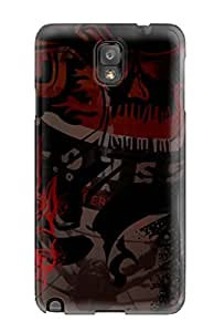 Galaxy Note 3 IIFywns2765Avzdh Skull Tpu Silicone Gel Case Cover. Fits Galaxy Note 3