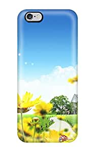 Premium Protection Happy Spring Day Case Cover For Iphone 6 Plus- Retail Packaging