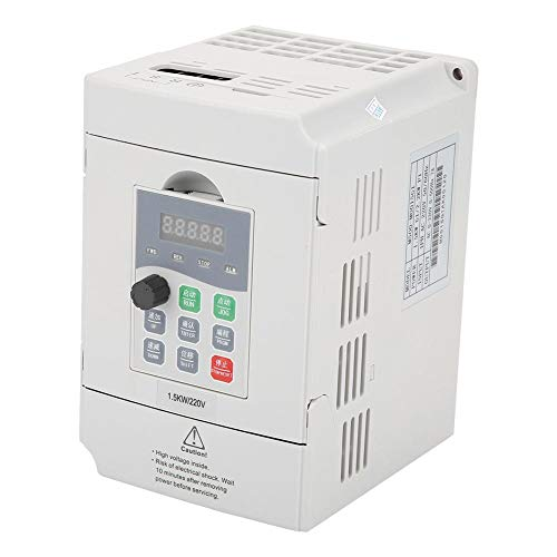 1.5kW General Frequency Inverter Converter Vector Type Single Phase AC 200-240V by Wal front (Image #8)