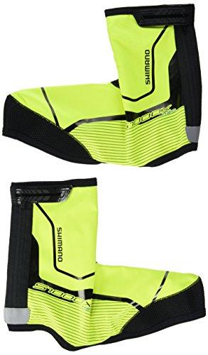 Shimano Überschuhe Trail H2O/S1000X , todo el año, unisex, color Negro - negro, tamaño small amarillo