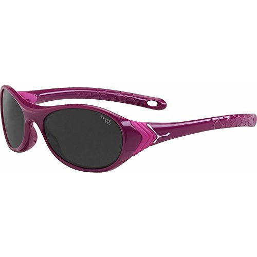 Cebe CRICKET KIDS SUNGLASSES (SHINY PURPLE NEON PINK WITH 2000 GREY LENS) by Cebe