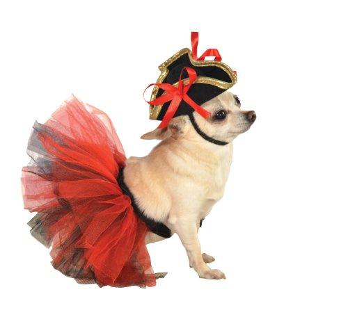 Rubie's Pet Tutu, Red and Black, Small/Medium]()