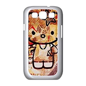 Samsung Galaxy S3 9300 Cell Phone Case White Hello-Kitty Unique Phone Cases XPDSUNTR34618