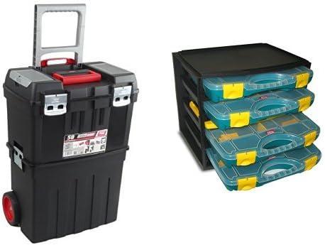 ALUMIN TAYG - Caja de herramientas + Multi-Box nº 1: Amazon.es ...