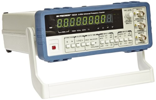 Frequency Counter - B&K Precision 1823A Universal Frequency Counter with Ratio Function, 2.4 GHz