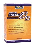 NOW Foods – B-12 INSTANT ENERGY PACKETS 75/BOX