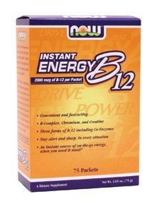 NOW Foods - B-12 INSTANT ENERGY PACKETS