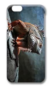 MOKSHOP Adorable Iguana Hard Case Protective Shell Cell Phone Cover For Apple Iphone 6 Plus (5.5 Inch) - PC 3D by icecream design