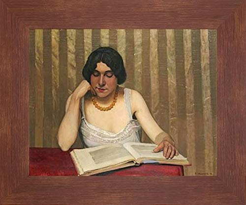 Reader with a Yellow Necklace by Felix Vallotton - 22