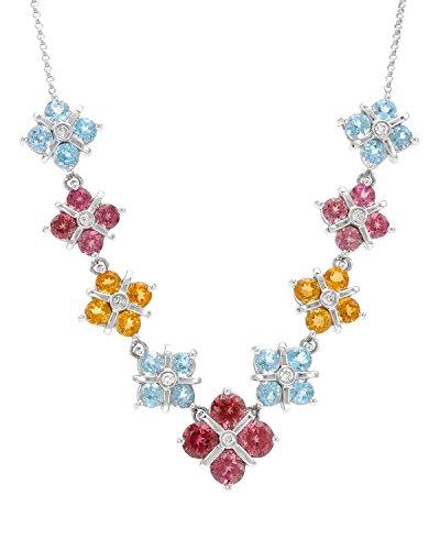 Citrine Gold Tourmaline Necklace - 6