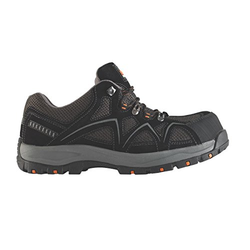 Trent Taille Safety Noir 7 Baskets Scruffs dna0d6