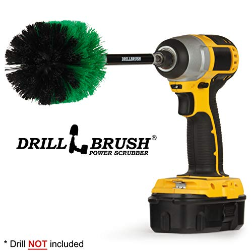 Drill Brush - Kitchen Accessories - Cleaning Supplies - Cast Iron Skillet - Pots and Pans - Griddle - Countertop - Cutting Board - Butcher Block - Spin Brush - Stove - Oven - Sink - Tile - Backsplash