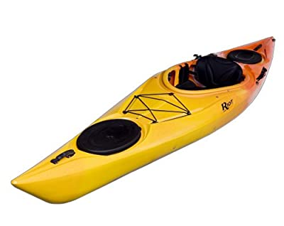 Enduro 13 Riot Kayaks HV Flatwater Yellow/Orange 13ft Day Touring Kayak