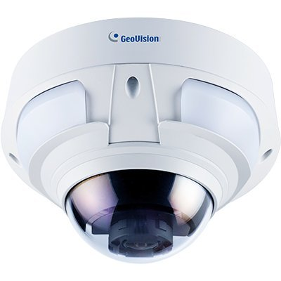 GeoVision GV-VD4711 4MP H.265 4.3x Zoom Super Low Lux WDR Pro IR Vandal Proof IP Dome by GeoVision