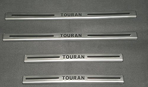 MTEC placas de umbral de la puerta - acero inoxidable para Touran - Aftermarket partes: Amazon.es: Coche y moto