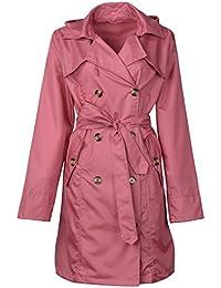 Amazon.com: Pinks - Trench, Rain & Anoraks / Coats, Jackets ...