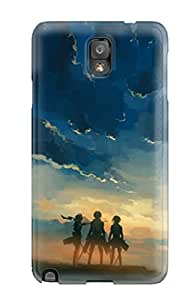 Special Design Back Attack On Titan Phone Case Cover For Galaxy Note 3