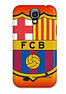Tpu Fashionable Design Barcelona Fc Rugged Case Cover For Galaxy S4 New 9941881K87314876