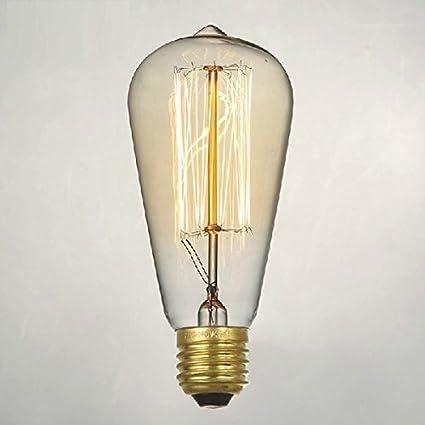 Thomas Edison Light Bulb For Rustic Lighting By Atlanta Vintage Bulb U2013 Set  Of Four 40