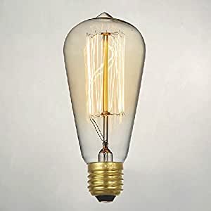 Thomas edison light bulb for rustic lighting for Enhance mood lighting