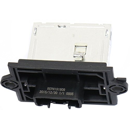 Blower Motor Resistor for NISSAN VERSA 07-12 / CUBE 09-13 4 Male Terminals Blade Type 12 Voltage