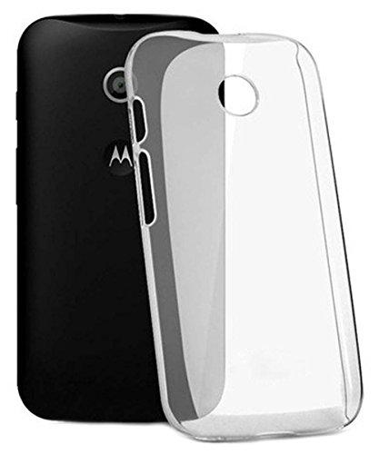 COVERNEW Back Cover Motorola Moto E  1st gen ::Moto E   Transparent