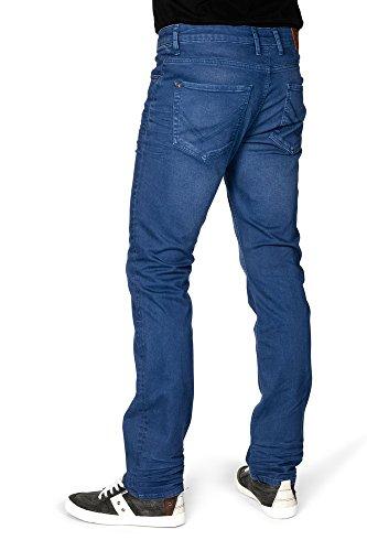 Azul hombre Básico Vaquero para redman recta wqZUp0