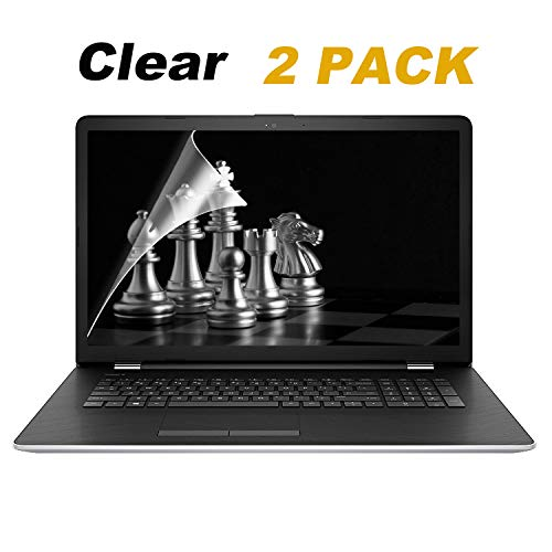 [2 Pack] 17.3 Inch Clear Screen Protector Compatible All Brand with 16:9 Aspect Ratio Display Laptop.