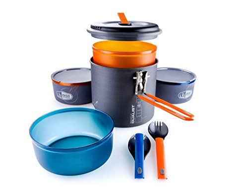 Price comparison product image GSI Outdoors - Pinnacle Dualist, Camping Cook Set, Superior Backcountry Cookware Since 1985