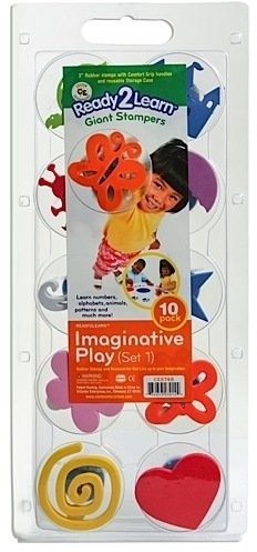 Center Enterprises Ready2Learn Giant Stampers (Imaginative Play 1) 1 pcs SKU# 1846135MA