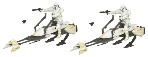 Star Wars 3.75 Inch Scale Battle Pack - Episode V: Hoth Speeder Bike Patrol