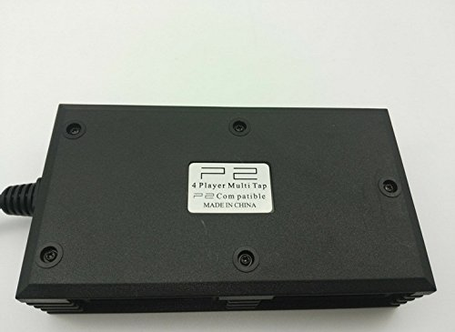 KEANER Multitap Multiplayer Game Adapter for Playstation PS2