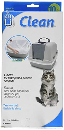 - Catit Clean Biodegradable Liners, Jumbo 10ct