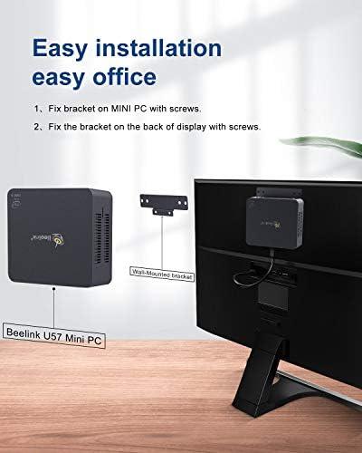 Beelink U57 Mini PC Windows 10 Pro Desktop Computer Intel Core i5-5257u (up to 3.10 GHz) 8GB RAM 128GB SSD, 2.4G/5G WiFi, Gigabit Ethernet, BT4.2, Dual HDMI, Expandable 2.5-inch HDD 1TB SSD
