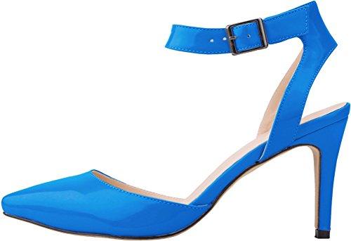 CFP , Damen Sling Backs , blau - blau - Größe: 41