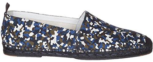 Men's Espadrilles Multi Camouflage Fendi Granite Shoes Print color Flats Loafers g4Hq4dW