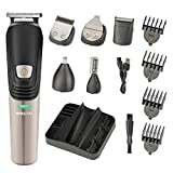 ROZIA 6 in 1 hair clipper Electric Trimmer Men Shaver Beard and Nose
