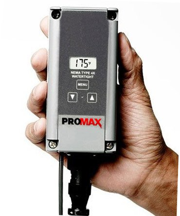 ProMAX 55 Gallon Ultra-Wrap Drum Heating System, 240V, 1500W, Adjustable Thermostat 0-212°F