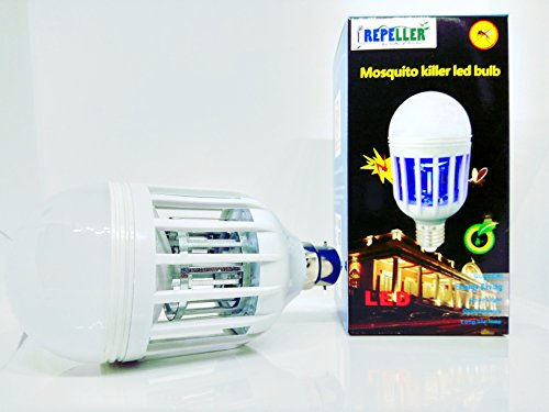 Repeller Mosquito Flies Killer LED Bulb And Zapper B22 12 Watt