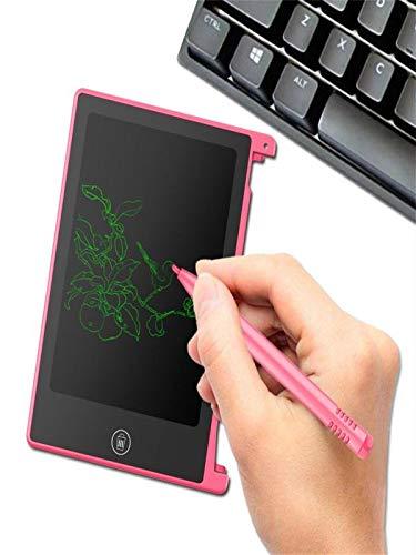 4 Colors Options Luccase 4,5 LCD-Schreibtafel Writing Tablet Kleine Tafel Malen Zeichenbrett Drawing /& Ske Handschrift Notizblock Zeichnung Boards Grafiktablet Schreibtafel f/ür Kinder Blau