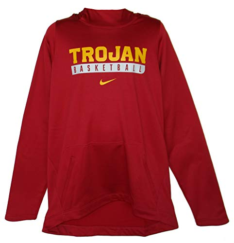 NCAA USC Trojans Basketball Men's 2X-Large 2XL Hooded Sweatshirt Pullover - Cardinal